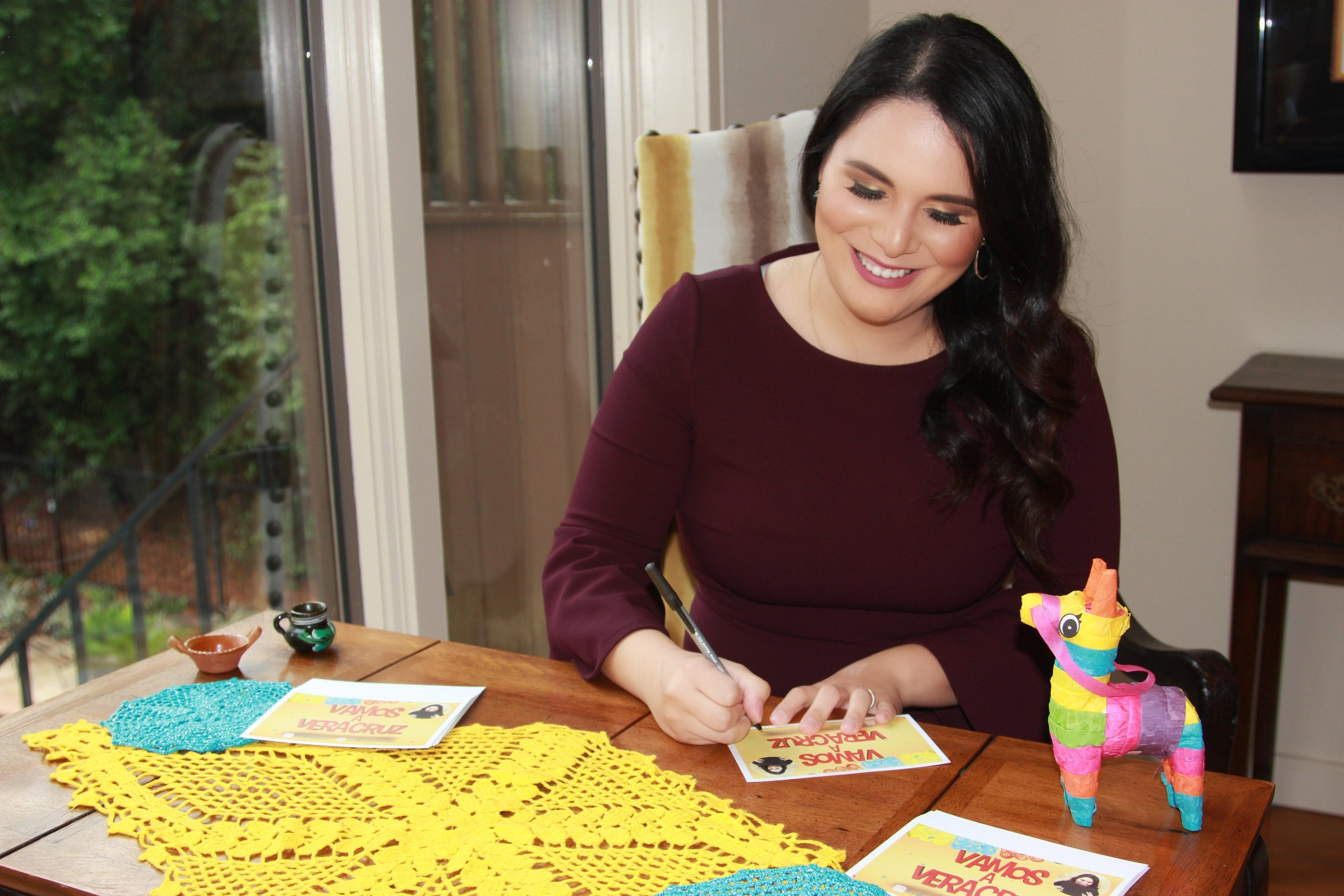 Author     Alice Perez   is adding her voice to children's literature with  Vamos a Veracruz , a book inspired by the experiences of her late grandmother.