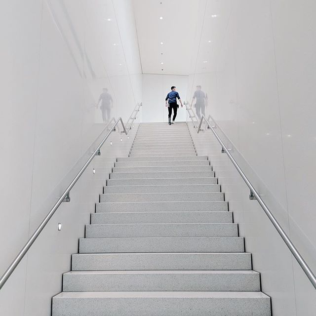 The endless climb... #stairs #corporateladder #freedom #money #wealth #budget