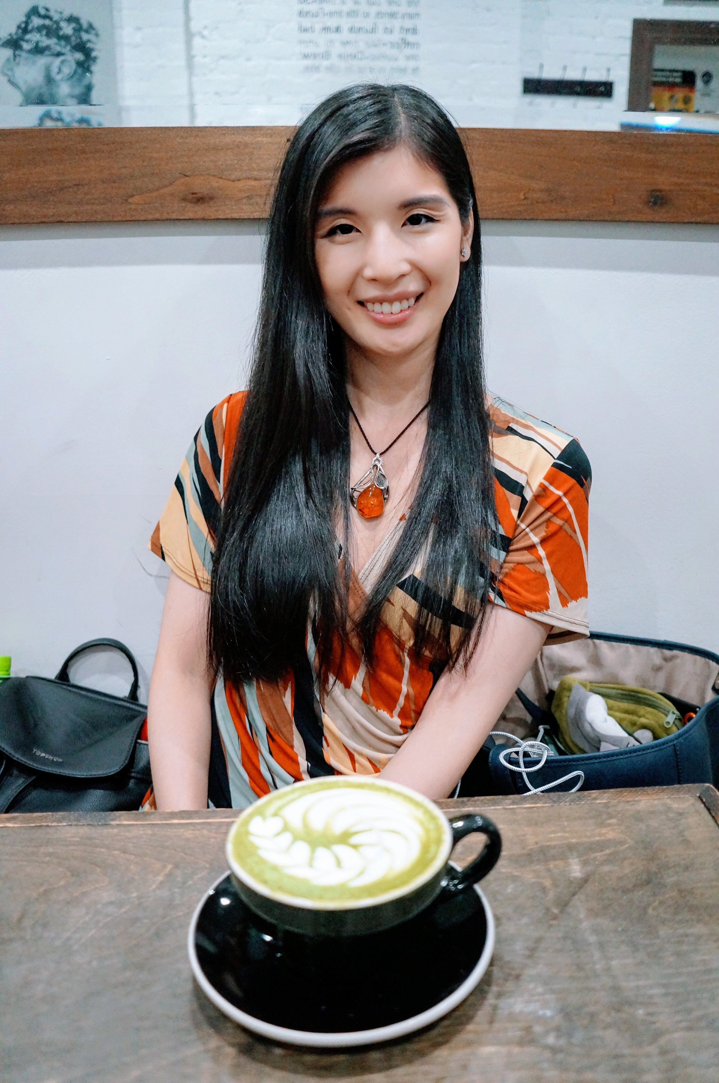 Always indulge in Matcha Lattes when possible.