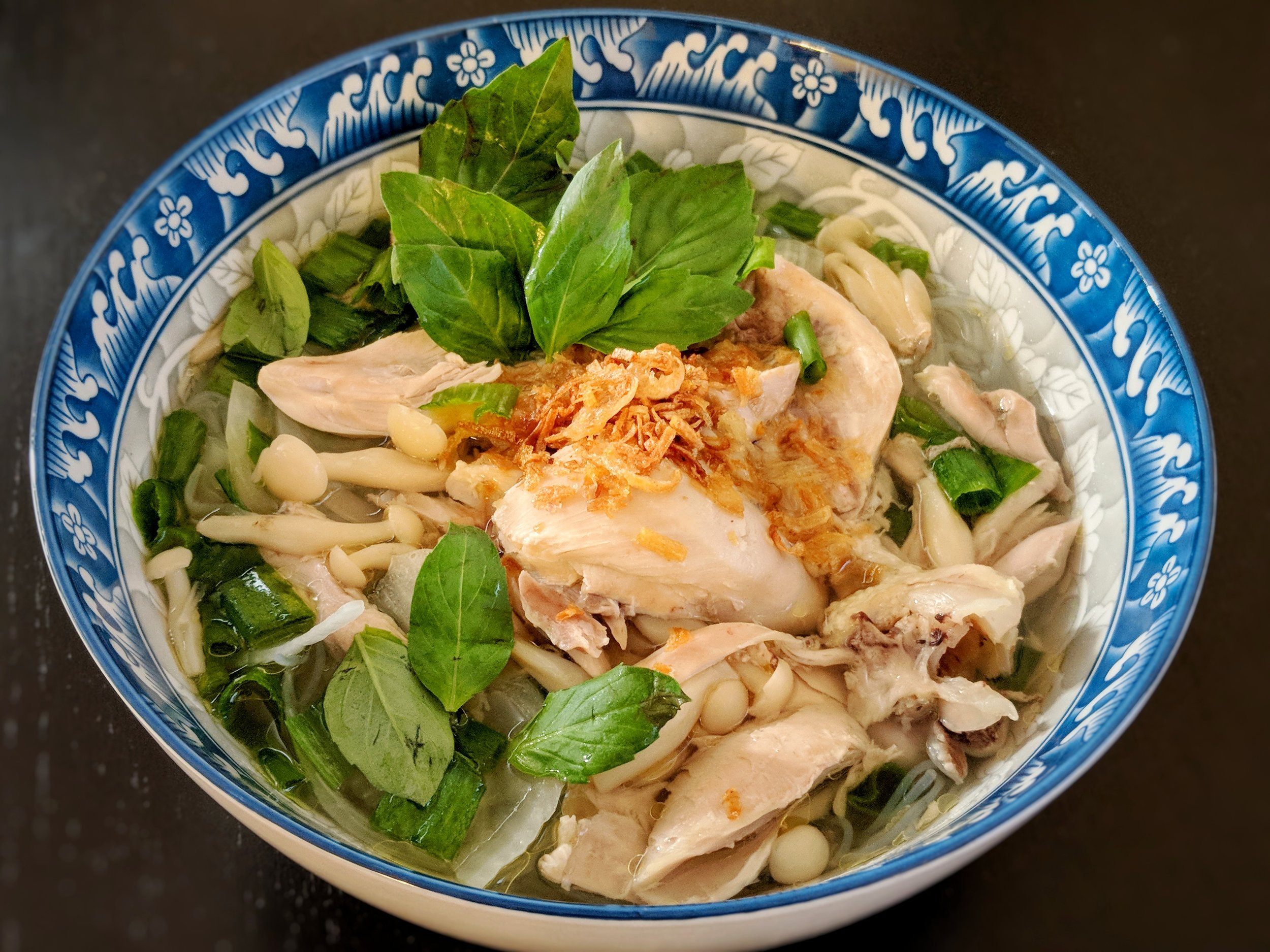 Miến Gà - Vietnamese Chicken Glass Noodle Soup