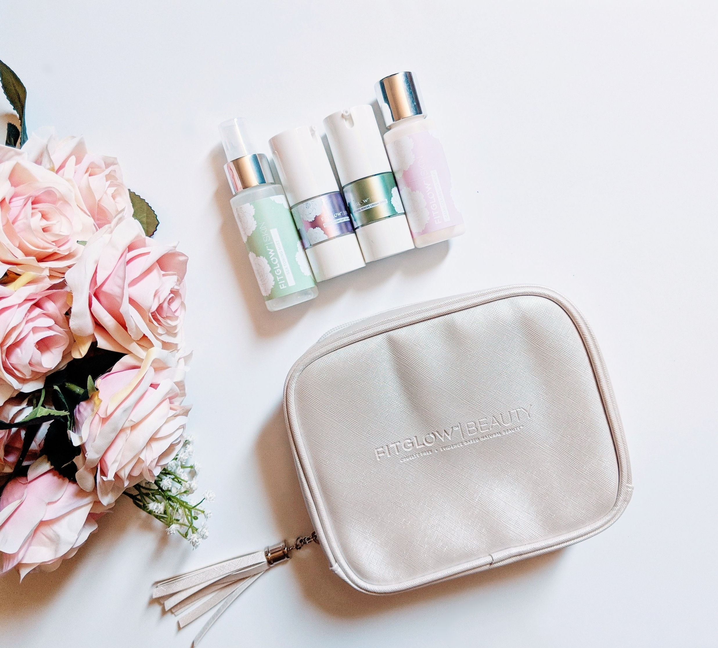 The Fitglow Calm Skincare Line - Travel kit
