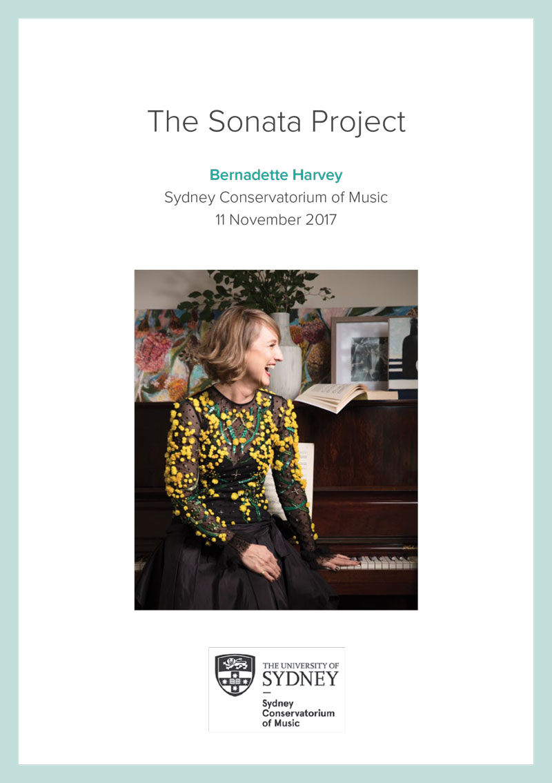 The Inaugural Sonata Project - The Sonata concerts unveil the new works to the public in ways that pay homage to the past, recapturing the vitality of those nineteenth century luxurious salon concerts, while looking with optimism to the future.