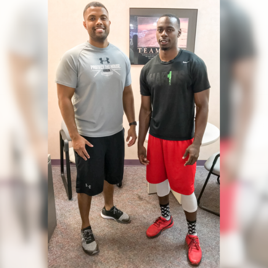 """It's vital I take the time to show some love to one of the most elite trainers in the country! The amount of work he puts in to perfect his craft and gain knowledge in his profession is second to none! You're appreciated and your effort doesn't go unnoticed. Excited to see your 5-10 year goals pan out! God got you!"" - Tuswani Copeland. AFL Baltimore Brigade"