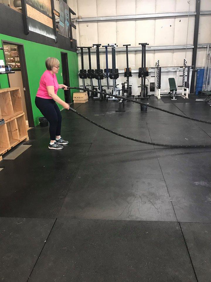 rope slam