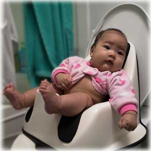 3 Month Old On Ec Seat