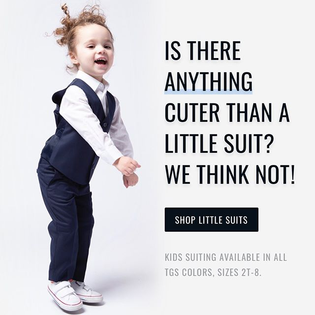 Tiny Humans in Tuxedos! @thegroomsmansuit  got this one right, there's nothing cuter.  So excited they've added outfitting the little ones.  #weddingdetails  #ringbearer  #suits  #tuxedo  #dallasweddingplanner