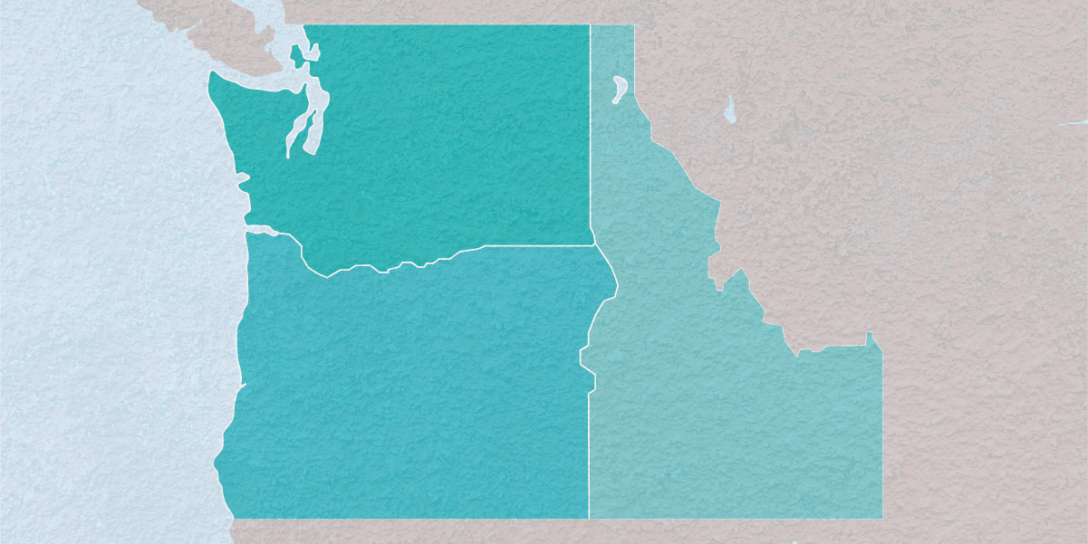 Serving - Washington, Oregon, and Idaho