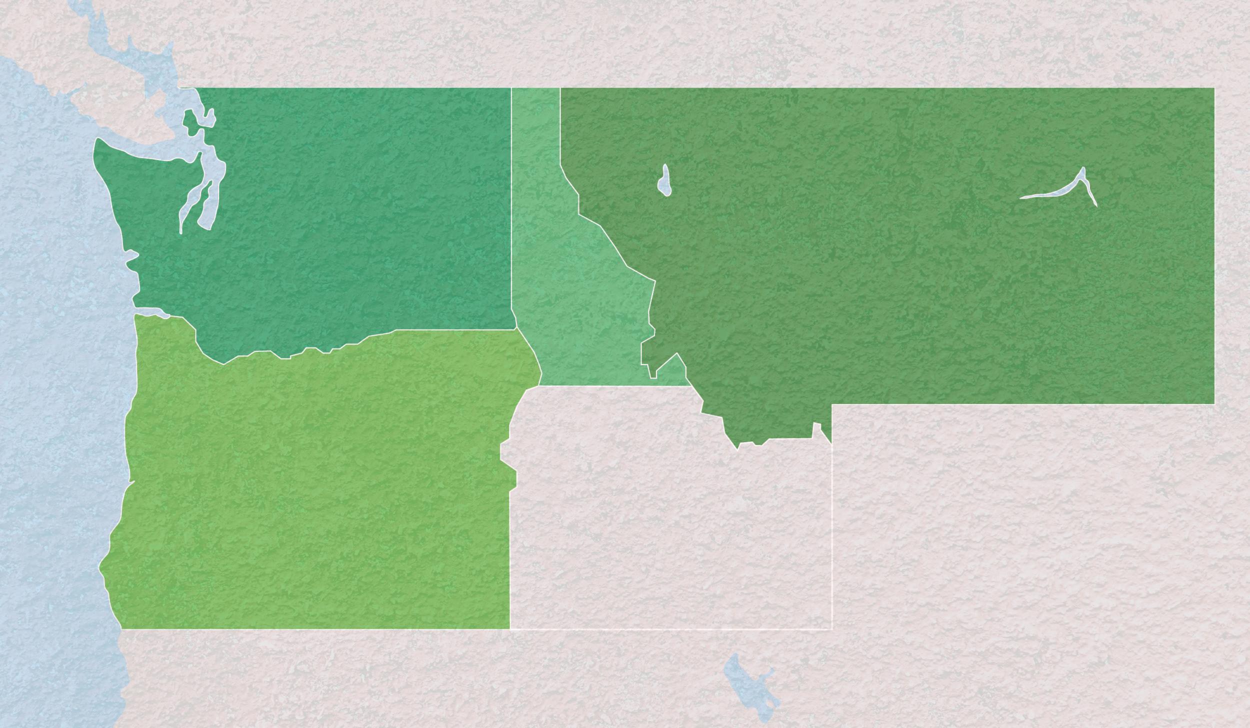 Serving - Washington, Oregon, North Idaho, and Montana