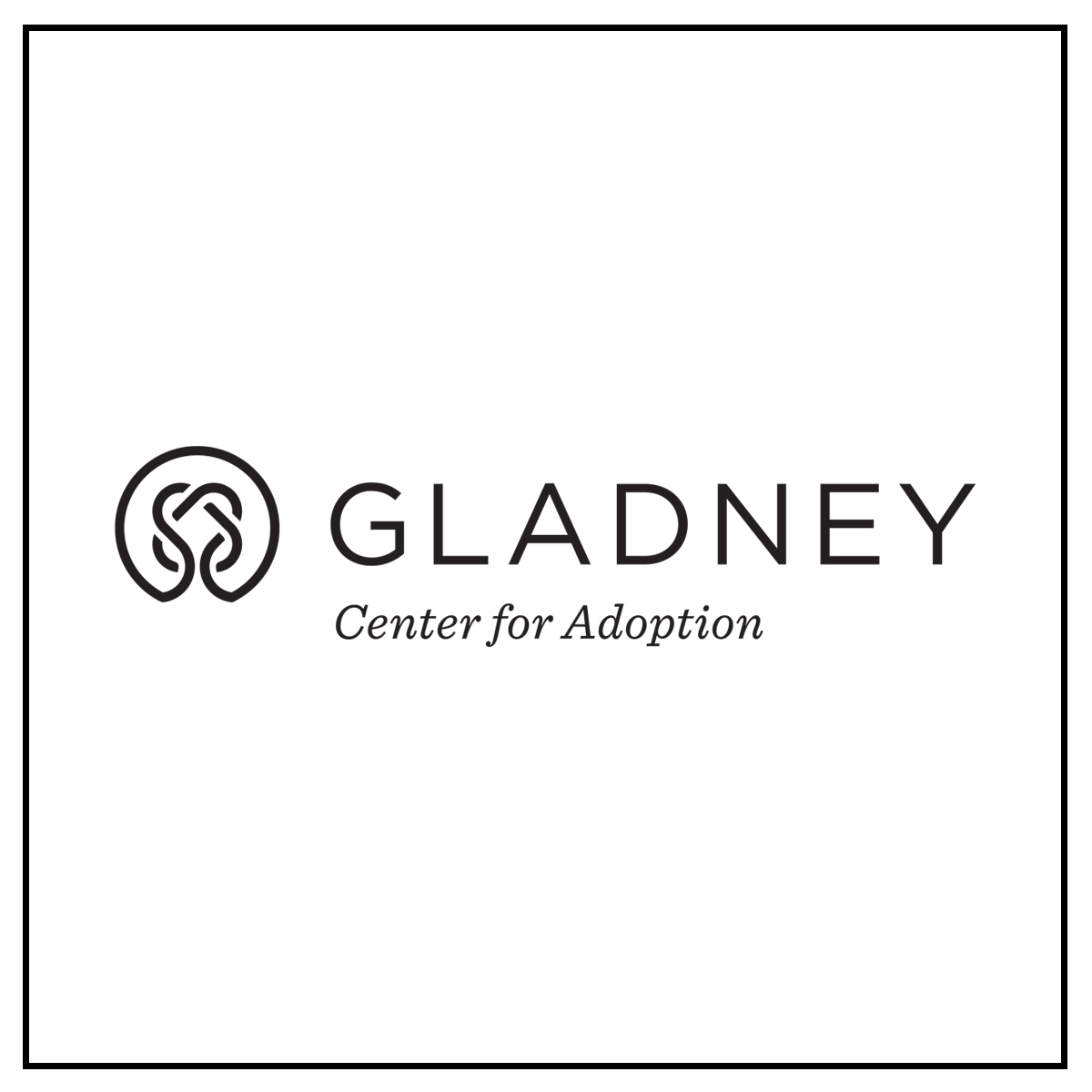 Gladney Logo B+W Square.jpg