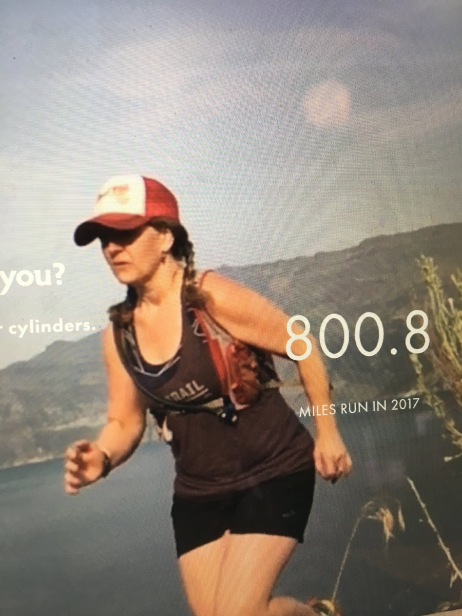 800.8 miles run on the trails in 2017! Time to start the ticker over again. 2018 is going to be my first 1000+ mile year. I'll be ensuring this by taking all the opportunities for fun and running, fueling myself with the  right  foods for me, and prioritizing rest days for resetting my system. Exciting times, my friends!