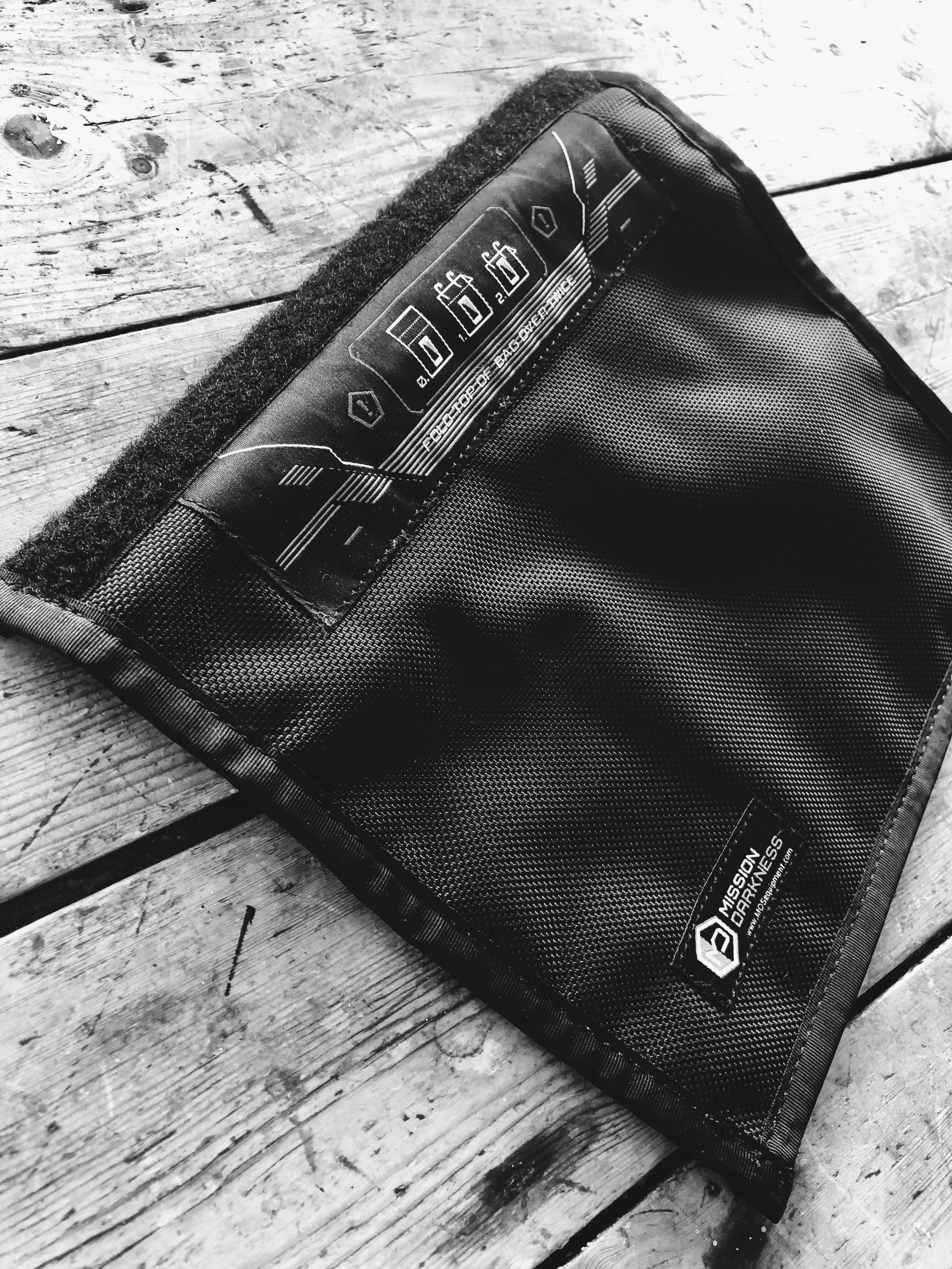At Sourced, - we travel a lot. We never send a team member abroad without the Mission Darkness Faraday Bag. That way, we keep our information just that,ours. It's small, easy to open and close, and obviously looks pretty sweet. Don't compromise your data... isolate your devices!Grab one here:https://mosequipment.com/