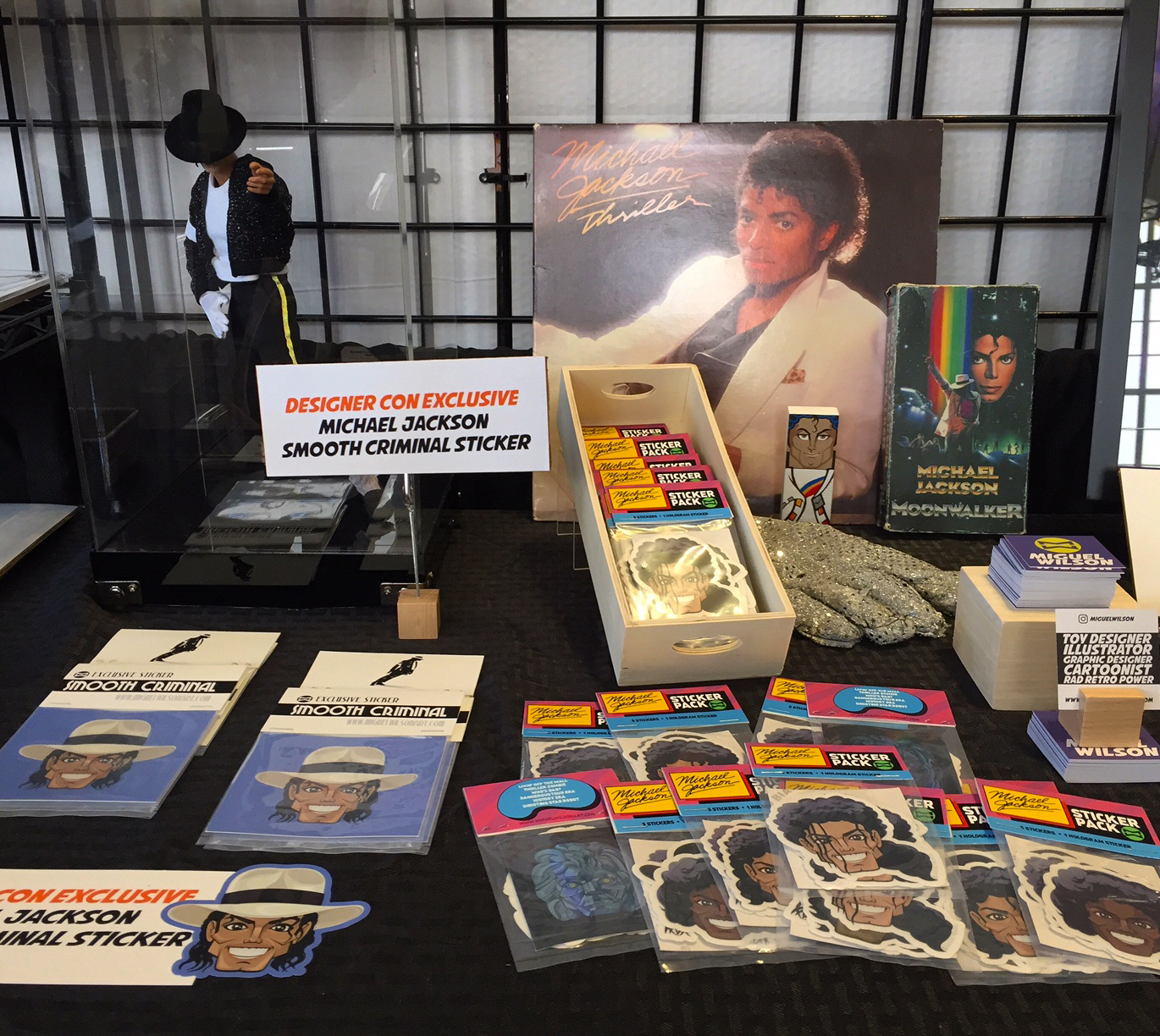 Designer Con 2016 - MJ Sticker Packs and collection