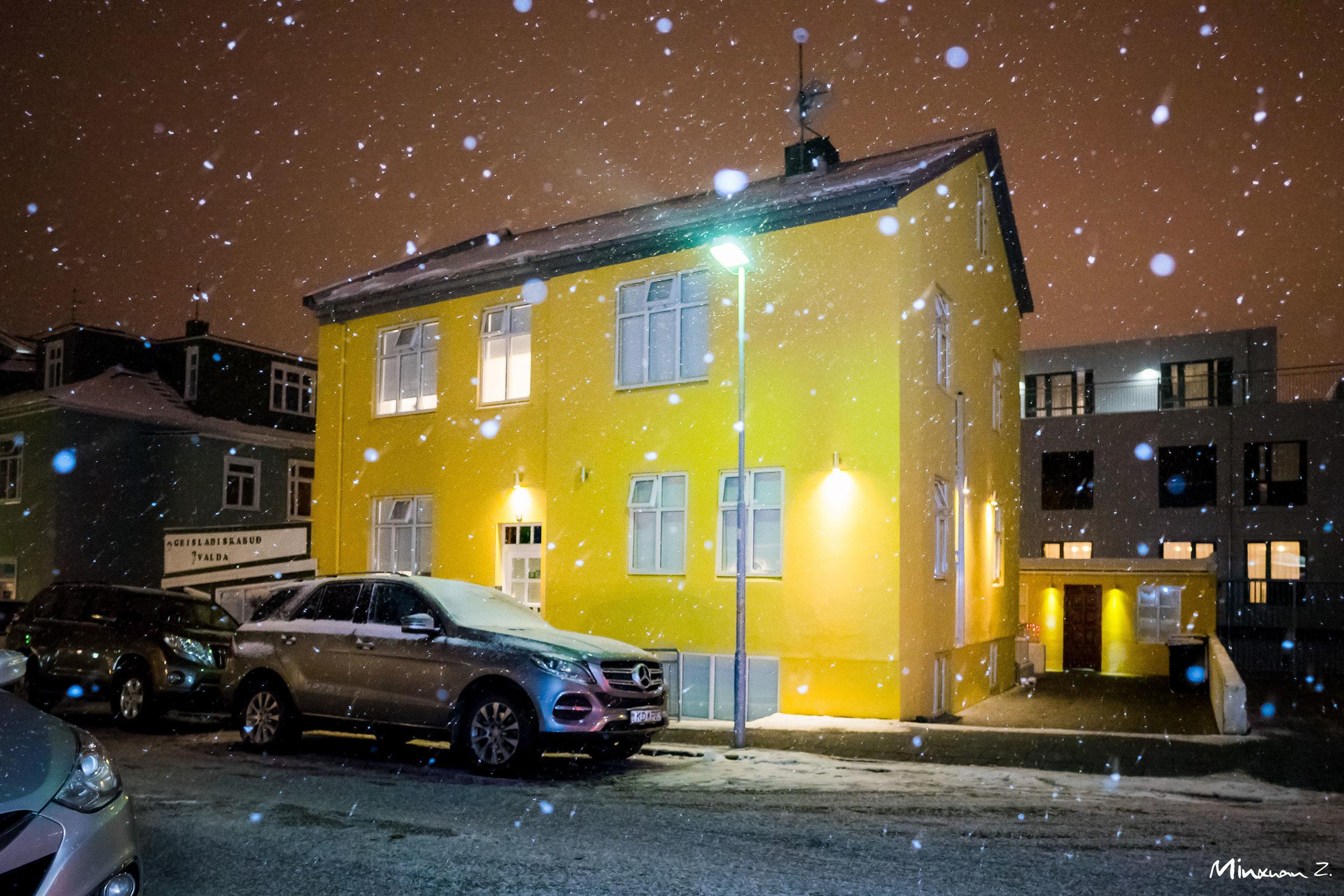 Xmas Eve in Reykjavík