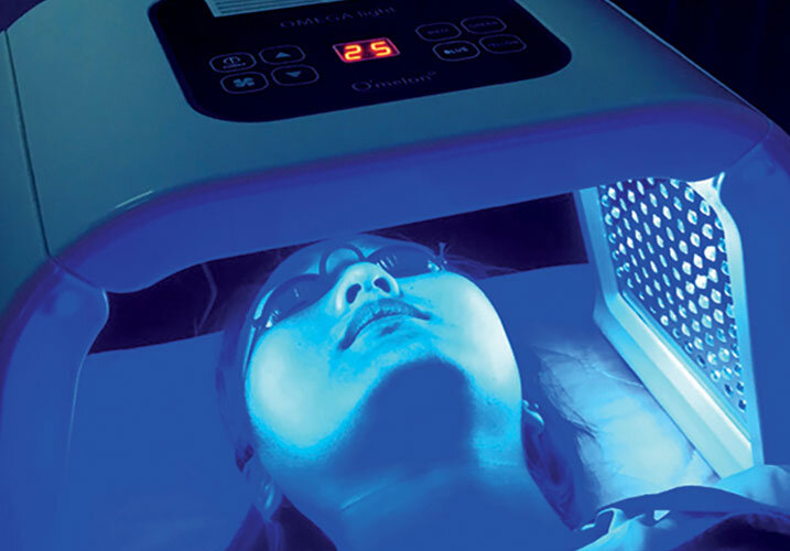 Acne and Blemish Skin Treatment   The Turning Point for Acne Control uses the sophistication of light-based technology combined LED light therapy with a safe, naturally occurring topical Oxygen Infusion antibacterial treatment for acne prone skin, decreased oiliness, and acne scar prevention.