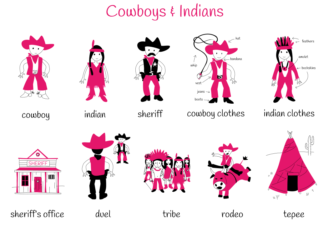 Theme 9: Cowboys & Indians
