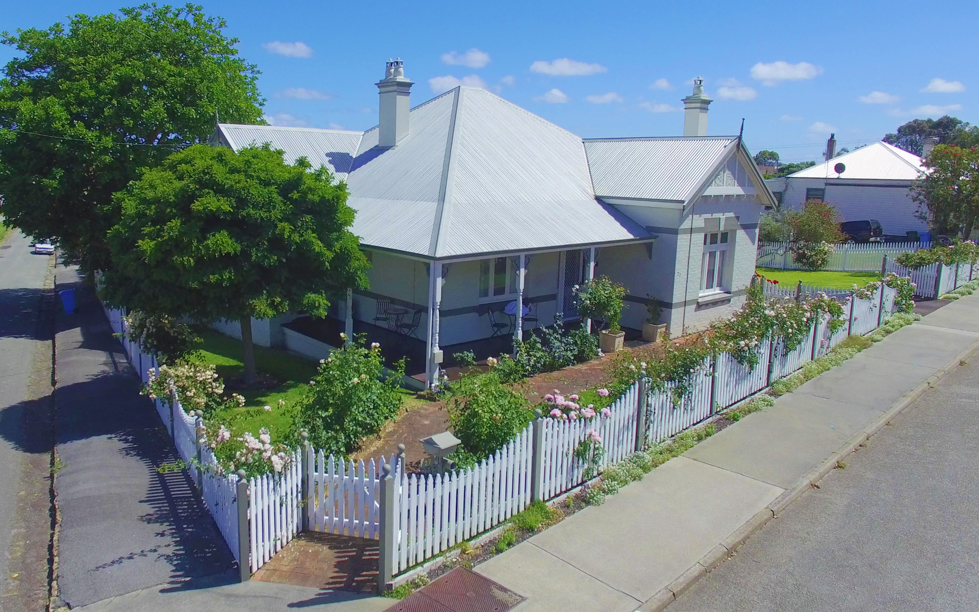 Property Overview - In the historic part of Albany.