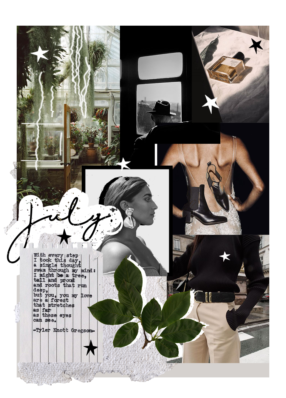 JULY'18 Mood Board & Music Playlist - Oh July, the past month has been an eye opener for lifestyle changes and creative capability...