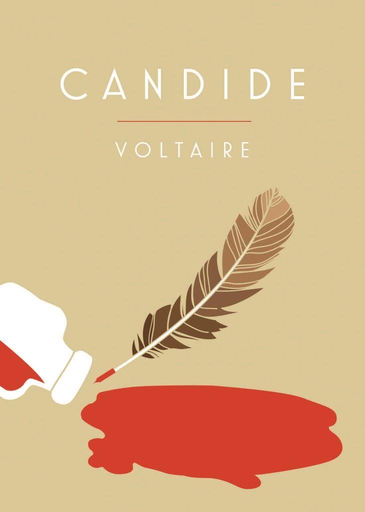 Candide - VoltaireVoltaire's masterpiece, first published in 1759, tells the fictional tale of the unluckiest title character in the world, Candide, amidst lashings of sarcasm and insight. Written originally as a satire against the Leibnizian dogma that 'all is for the best', Candide has stood the test of time as a scathing, humorous and entertaining put down from one of history's wittiest philosophers. Written in a style which still resonates today, Candide is one of the finest examples of philosophy for a mainstream audience. Its cements Voltaire's place as one of the original masters of pop-philosophy.
