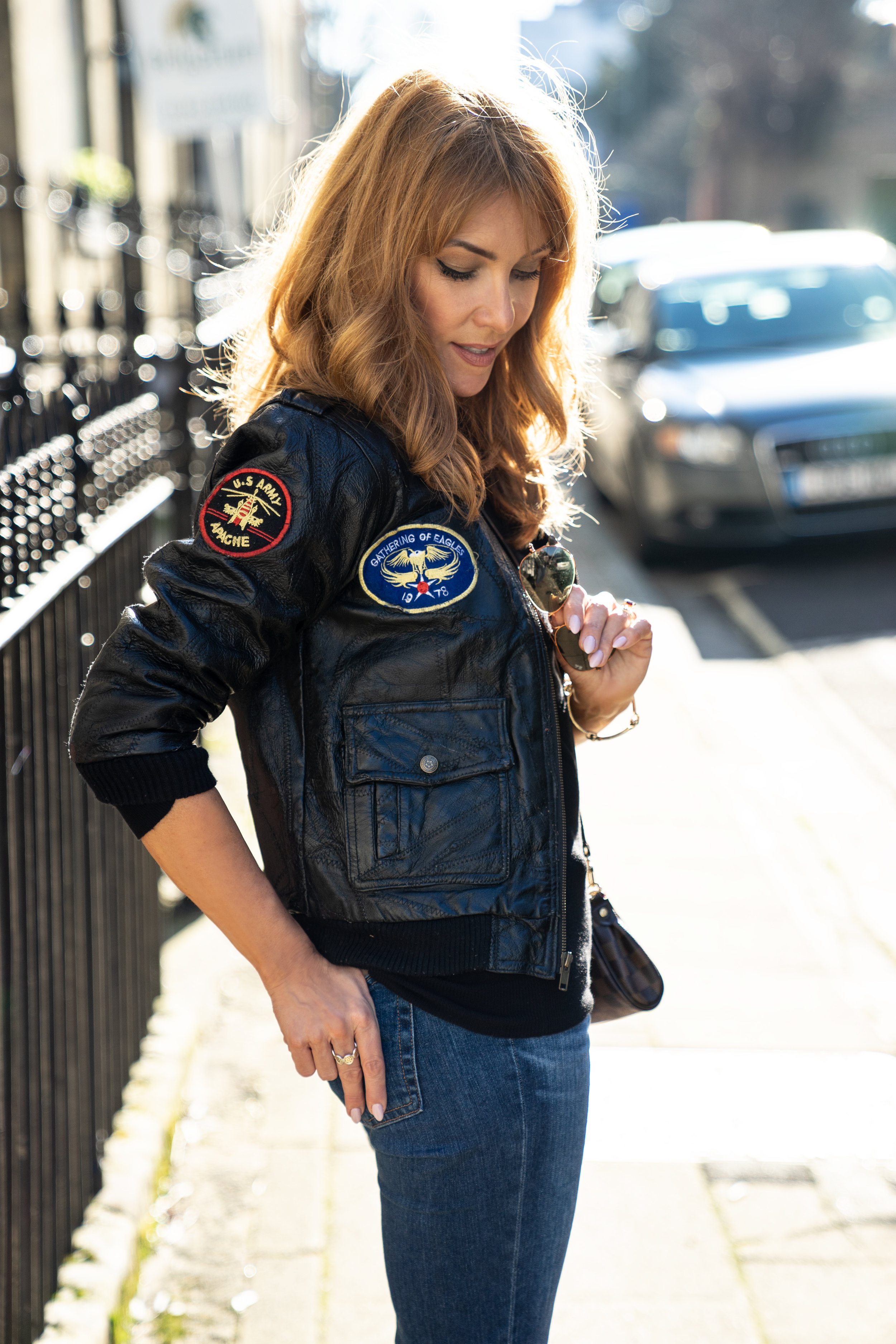 The Style Bible - Vintage Leather Jacket