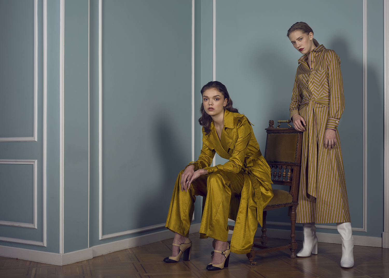 Alber Coat & Pants / Nicole -