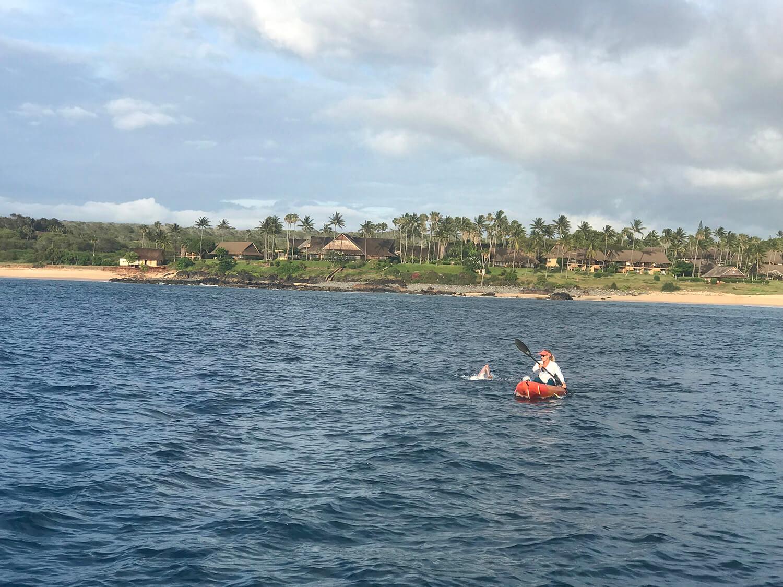 Leaving Molokai