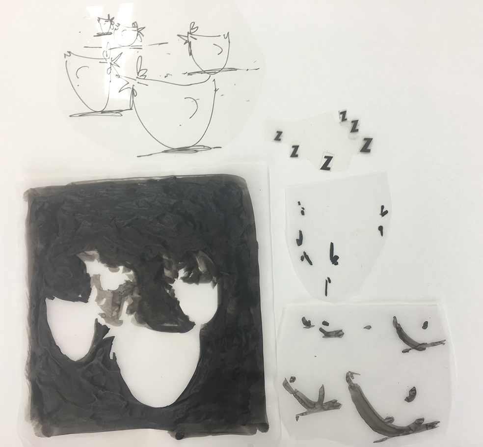 Artwork separation.