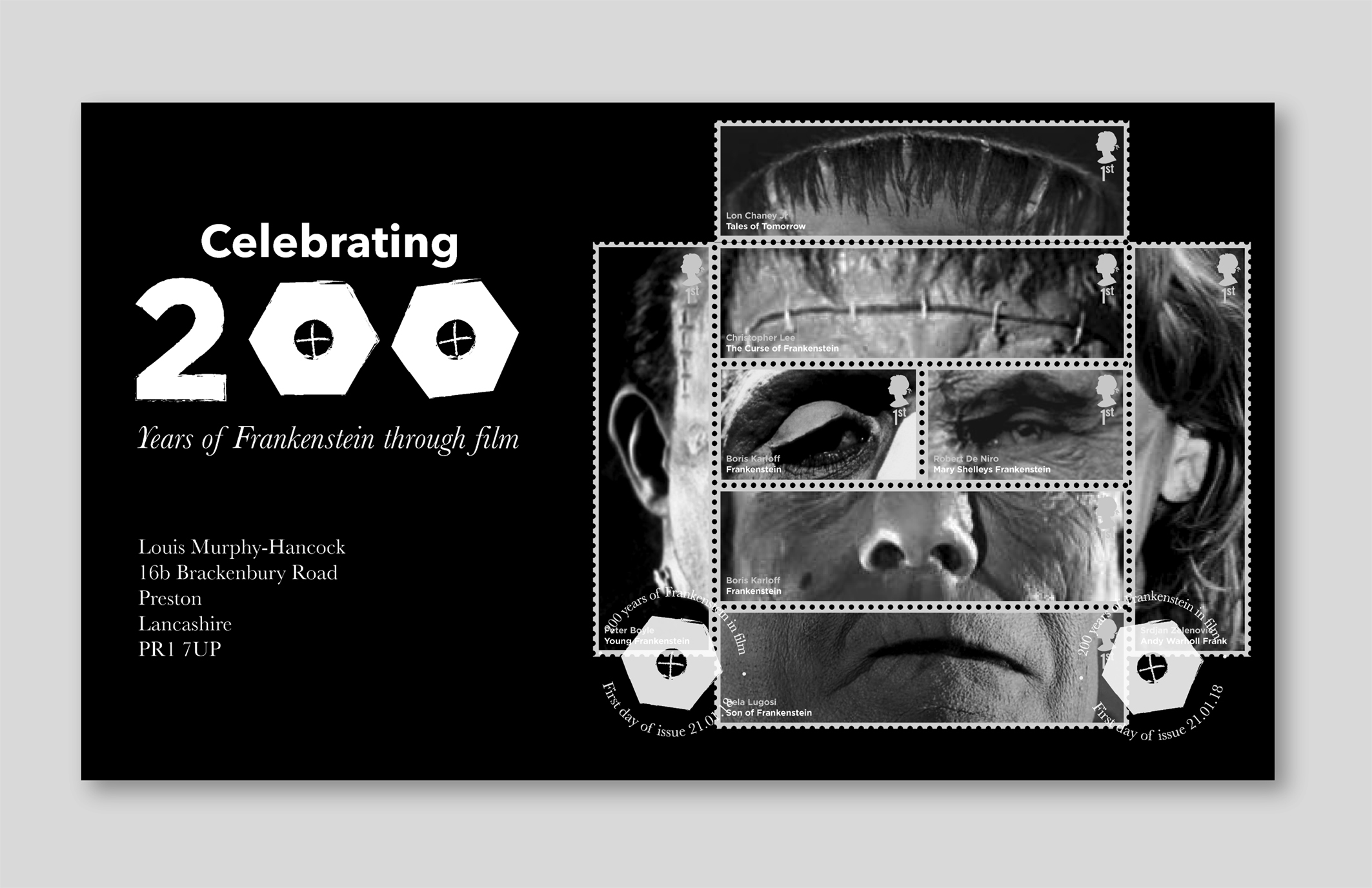 First day cover design