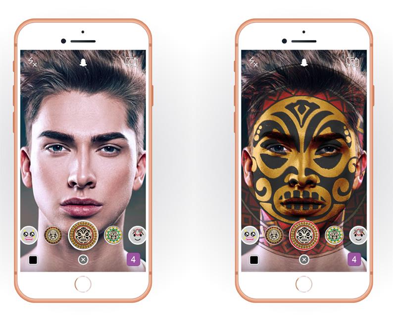 App - Social media concept