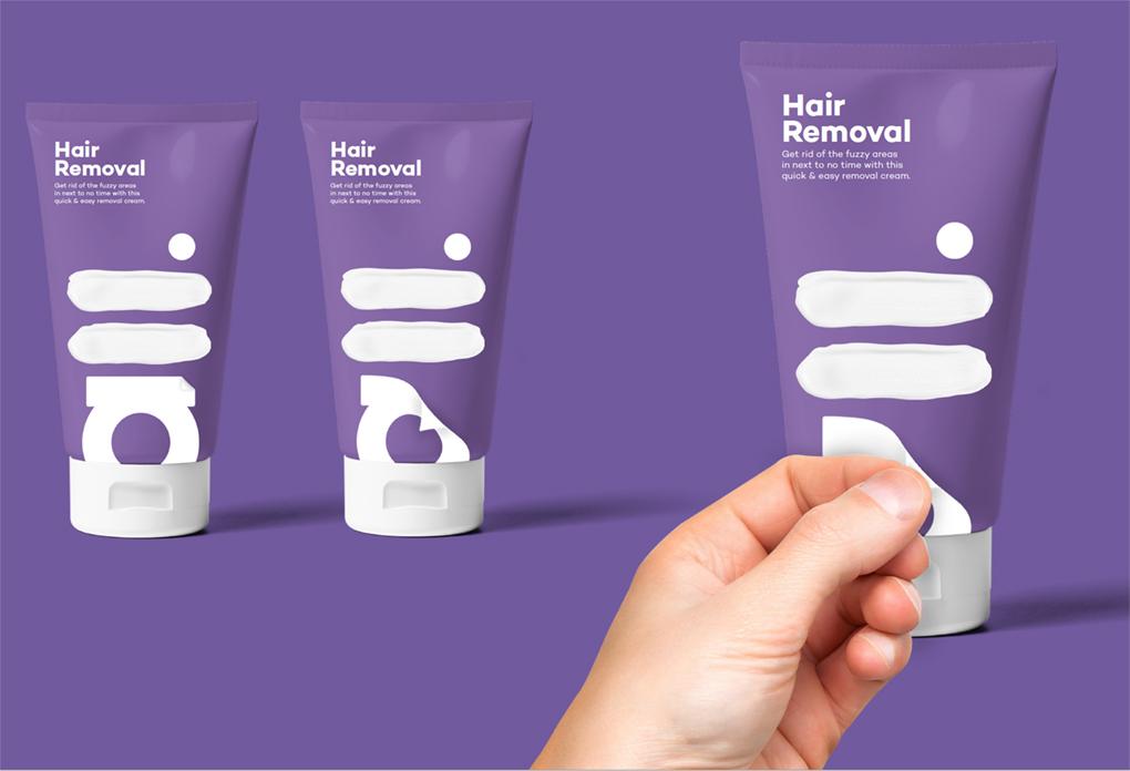 Removable label concept