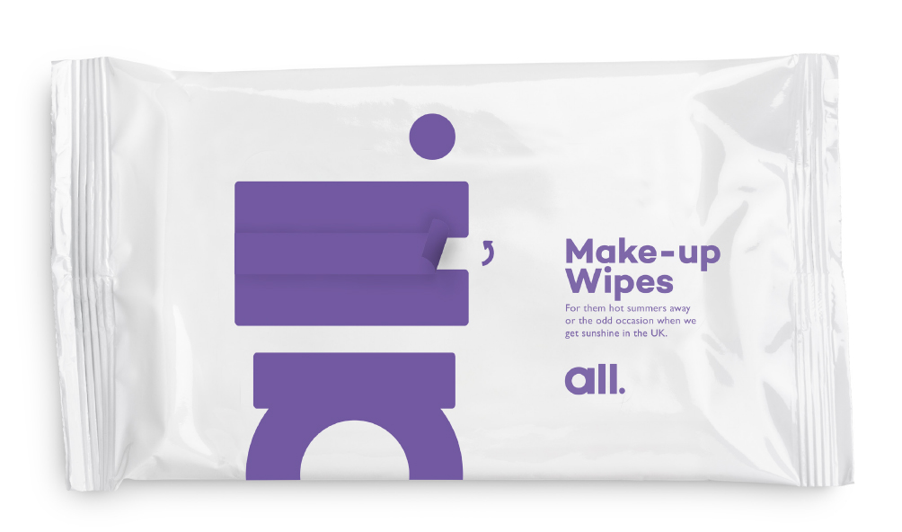 Brand touch point - Wipes
