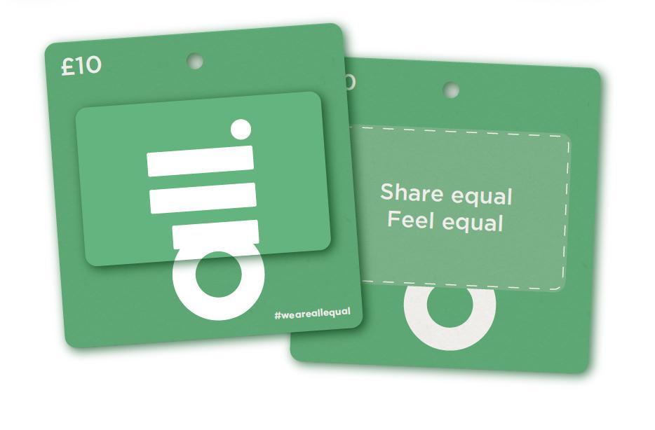 Brand touch point - Gift voucher