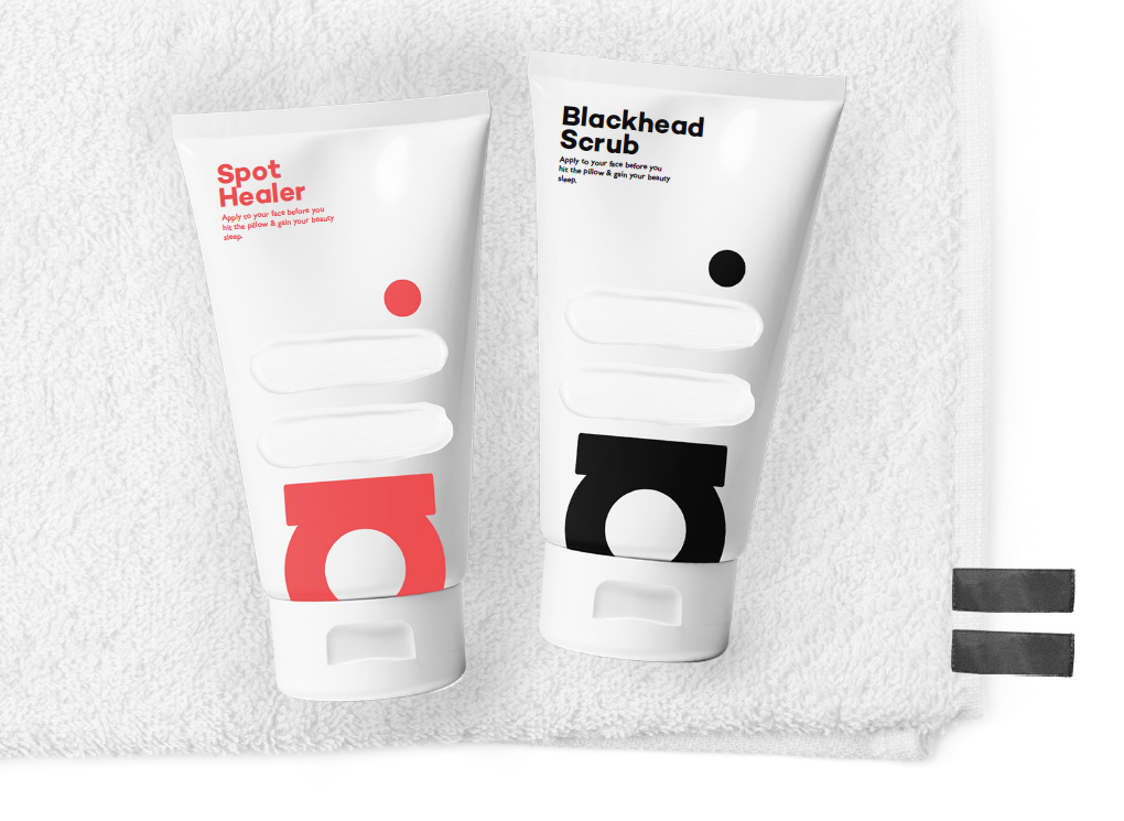 brand touch point - Towel tags
