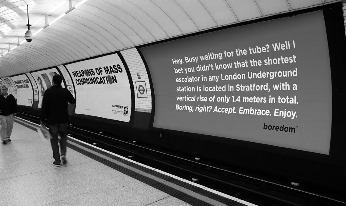 Boring Tube Advertisement - Example