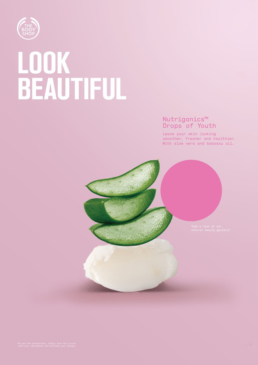 Poster - Clean cosmetic high quality photographic style