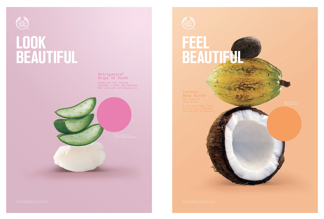 Consistent typographic style that combines two complimentary type families