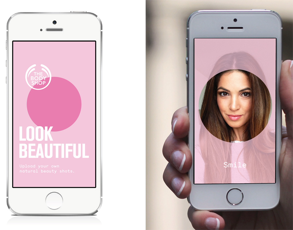Scanning - Hover your phone over the poster to interact with the different senses