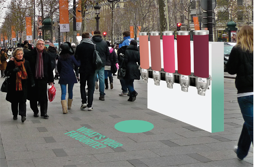 Ambient - Certain locations will have free sample dispensers