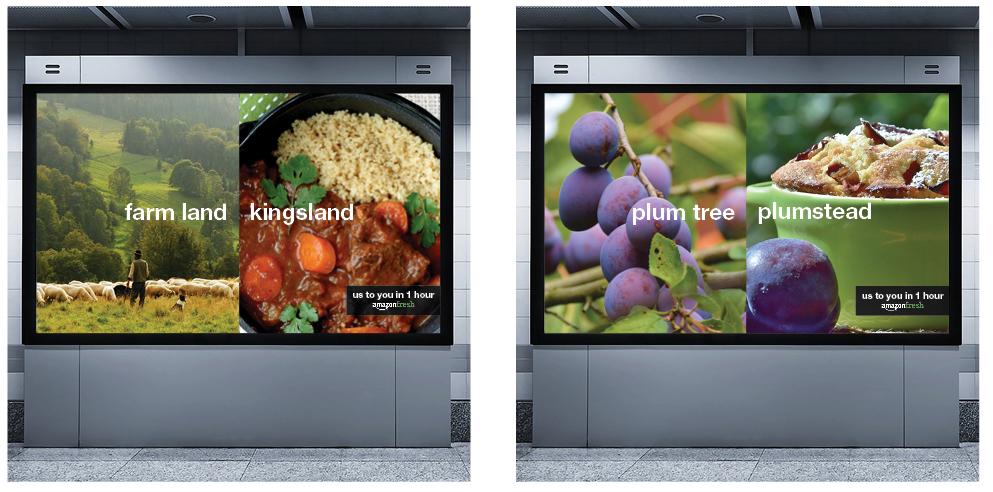Underground advertisements