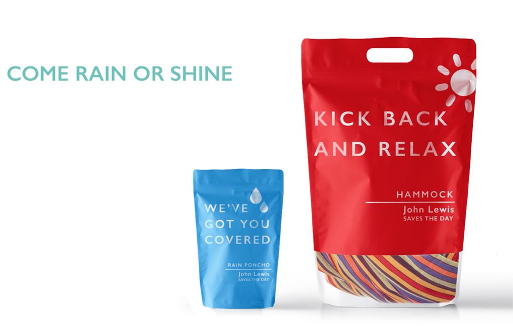 Saves the day - John lewis product range