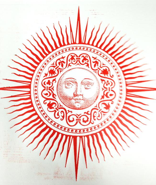 Final Print - Red Sun
