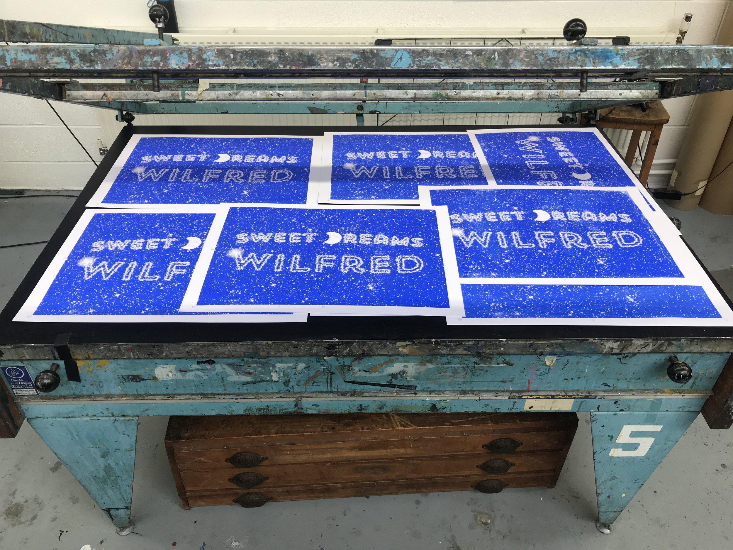 ink, printed