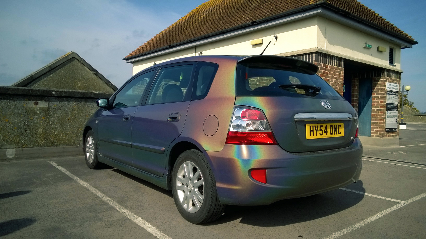 A Spectrum of Colours - There's no need to limit yourself to just a solid colour wrap film. With our flip colour wraps your car's colour will transform in the sunshine.