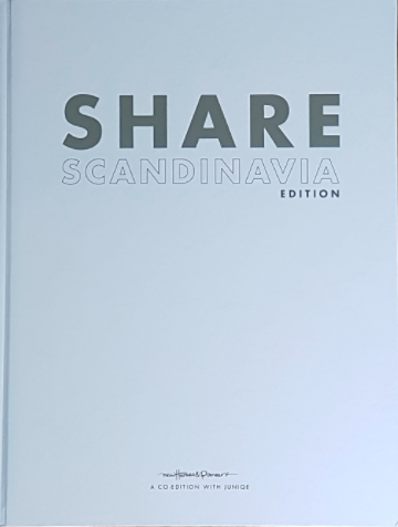 Share Scandinavia - Copy editor, foreword and back cover writer. A joint effort by publisher NHP and art company JUNIQUE. It's a big book with some fresh talent.