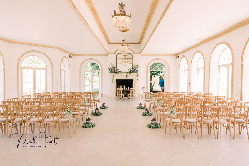 Northbrook park ceremony room
