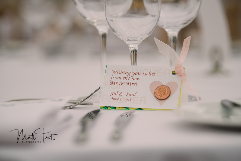 Table decoration ideas for American/English wedding