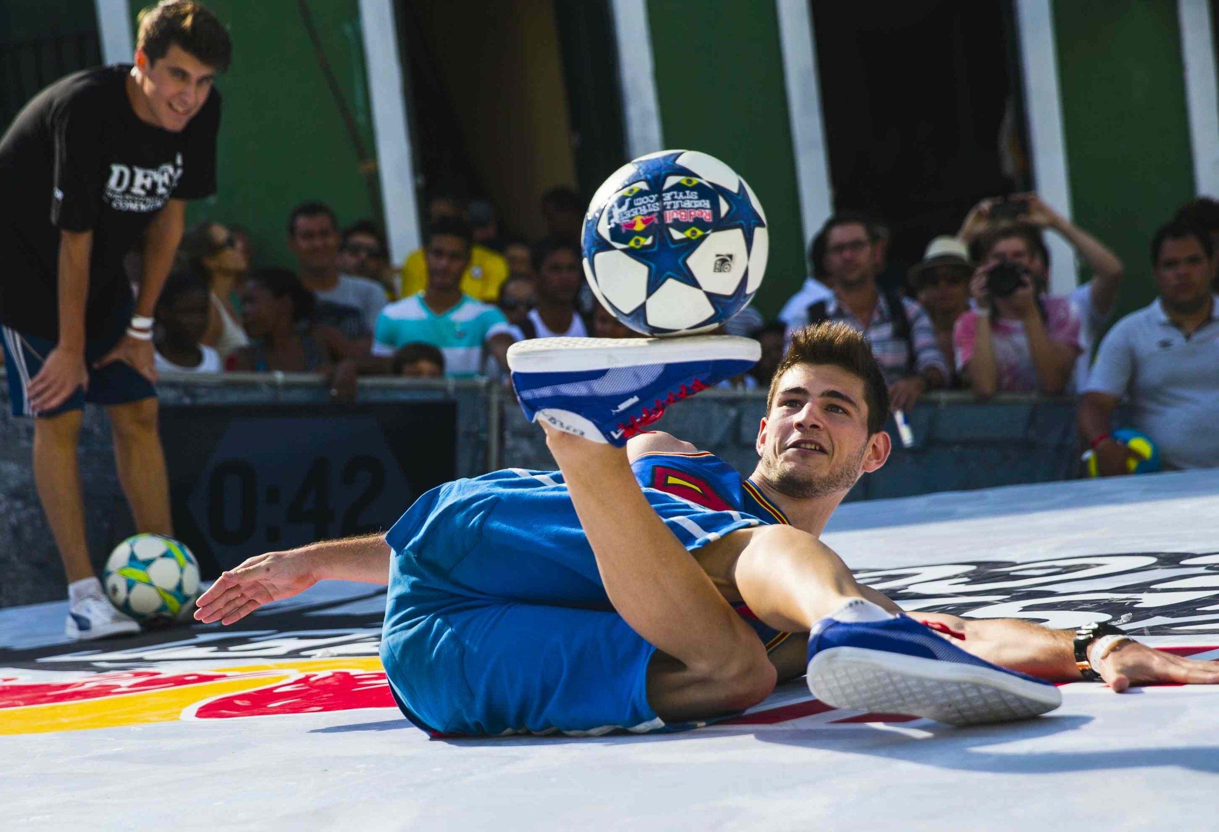 Red Bull Street Style World Finals - Groepfase Maarten van Luit, Salvador
