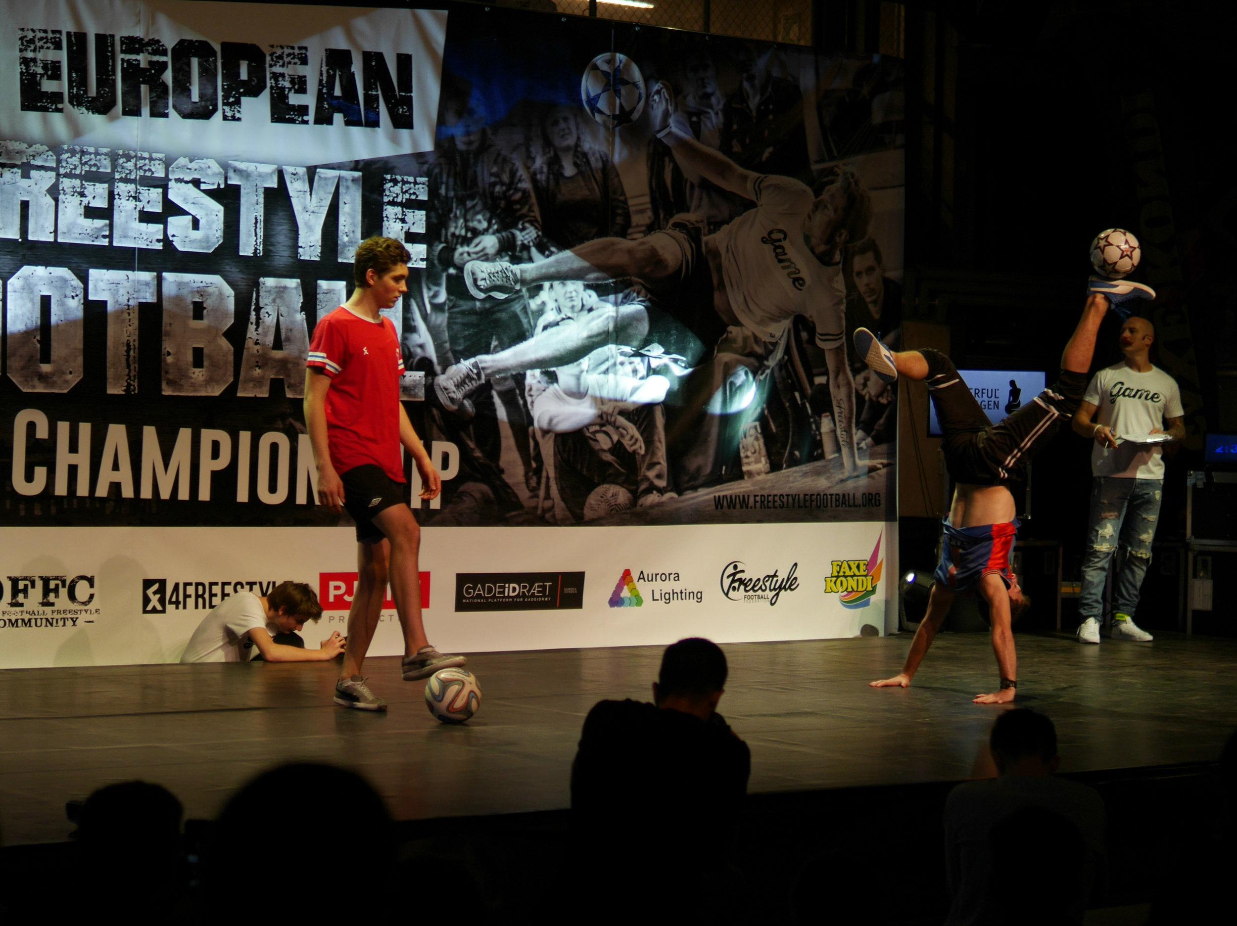 European Freestyle Football Championship - Top 8 Maarten van Luit