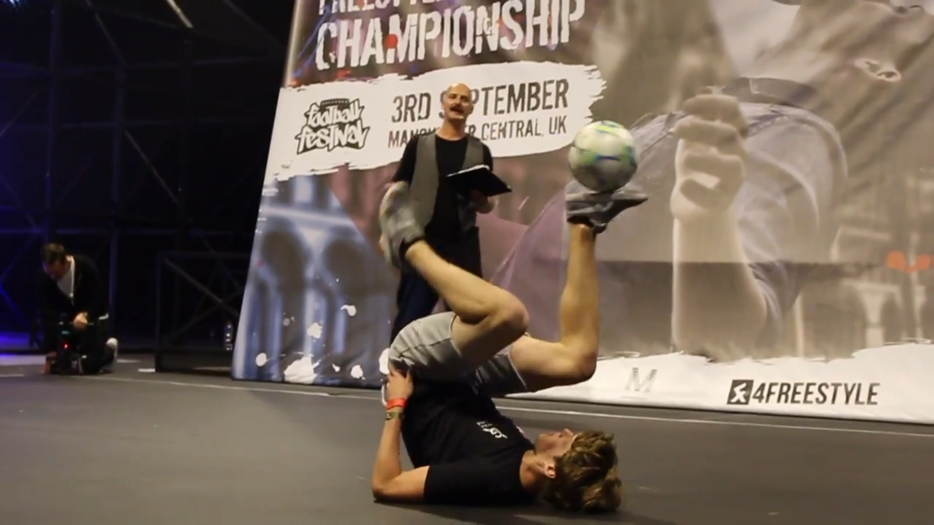 European Freestyle Football Championship - 4e plaats Jesse Marlet