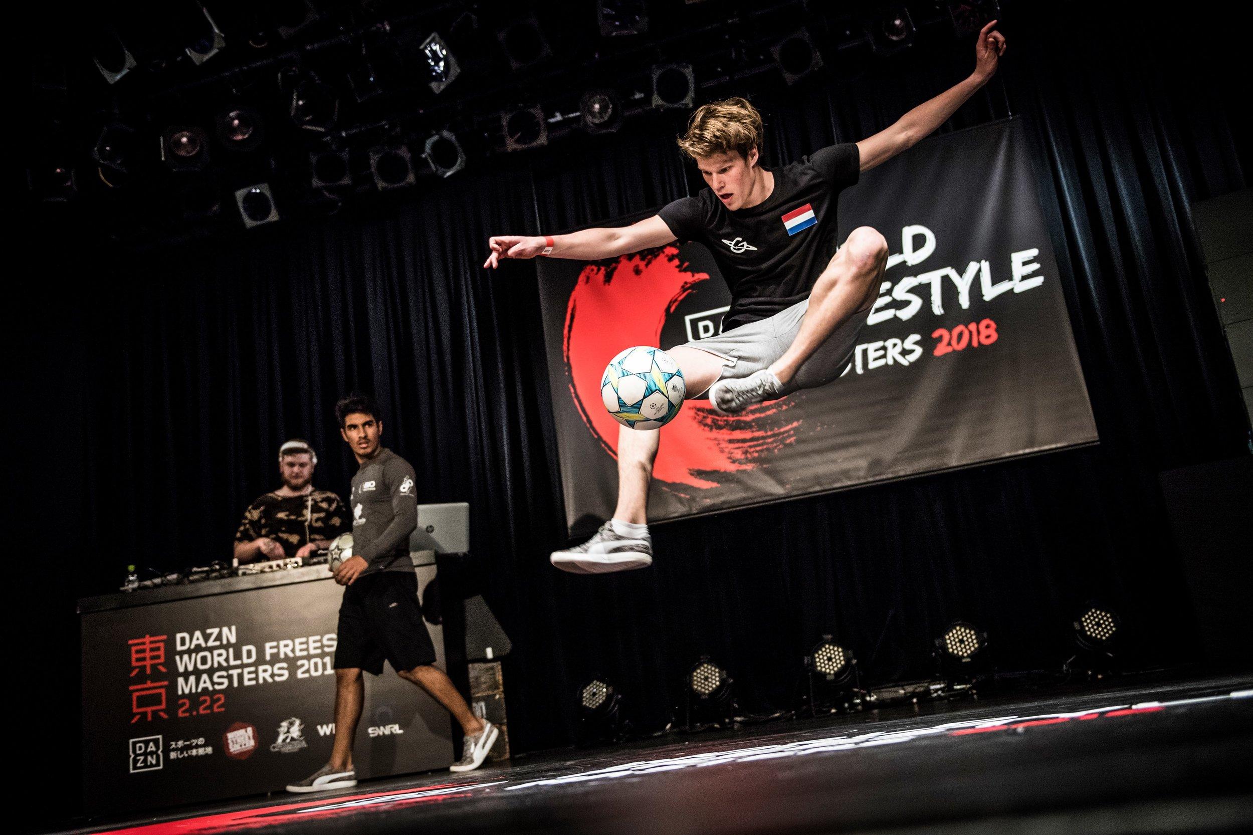 World Freestyle Masters - Top 16 van het WK in Tokyo Jesse Marlet