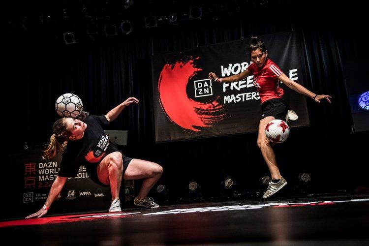 World Freestyle Masters - Top 4 van het WK in Tokyo Jasmijn Janssen